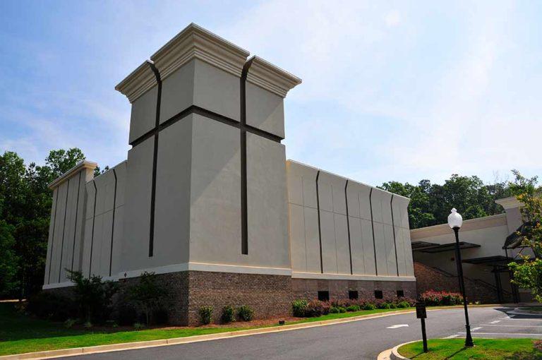 New Life Worship Center exterior
