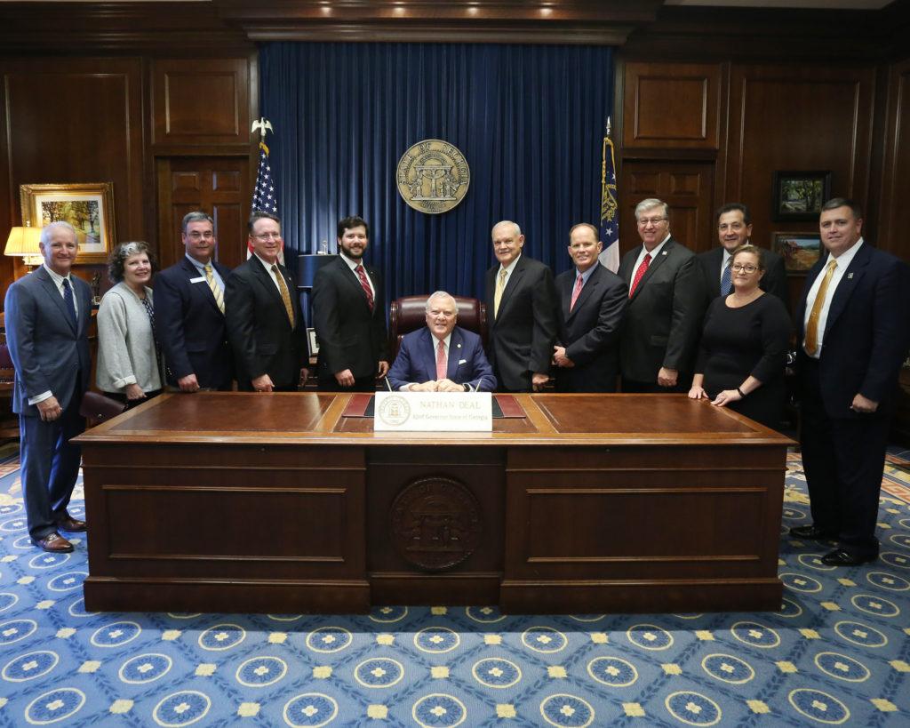 SB 3 Signing Ceremony